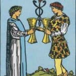 The Two of Cups Meaning, Reversed, Yes and No, Love Life