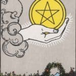 Ace of Pentacles: Meaning In Love Tarot Card Reading