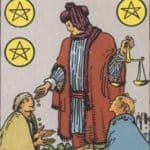 Six of Pentacles: Meaning In Love Tarot Card Reading