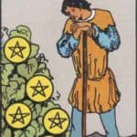 Seven of Pentacles: Meaning, Reversed , Yes and No, Love Life