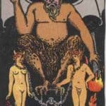 The Devil: Meaning, Reversed , Yes and No, Love Life
