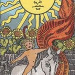 The Sun: Meaning, Reversed , Yes and No, Love Life