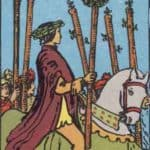 Six of Wands: Meaning In Love Tarot Card Reading