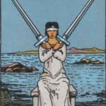 Two of Swords: Meaning In Love Tarot Card Reading