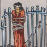 Eight of Swords: Meaning, Reversed , Yes and No, Love Life