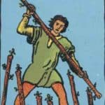 Seven of Wands: Meaning, Reversed , Yes and No, Love Life