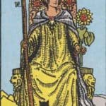 Queen of Wands: Meaning In Love Tarot Card Reading