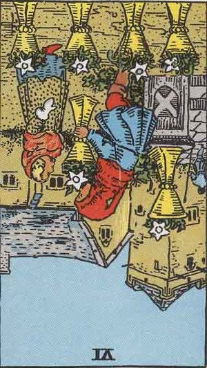 Six of Cups Reversed