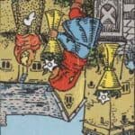 Six of Cups (Reversed): love, money, profession, health, spirituality