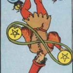 Two of Pentacles Reversed Meaning