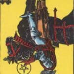 Knight of Pentacles Reversed Meaning