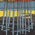 Ten of Swords Reversed Meaning