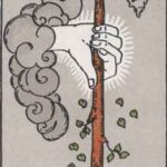 Ace of Wands (Reversed): love, money, profession, health, spirituality