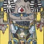 The Chariot (Reversed): love, money, profession, health, spirituality