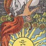 The Sun (Reversed): love, money, profession, health, spirituality