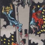 The Tower (Reversed): love, money, profession, health, spirituality
