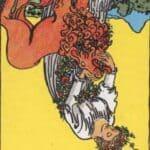 The Strength (Reversed): love, money, profession, health, spirituality