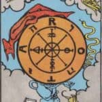 Wheel of Fortune (Reversed): love, money, profession, health, spirituality